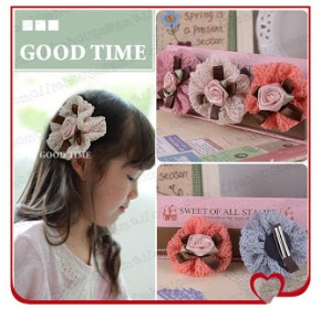 Clippies - Elegant Flower Clips - Elizabeth (1 pc)