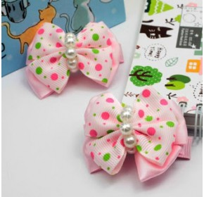 Clippies - Double Layered Ribbon Clips - Felicia (1 pair)