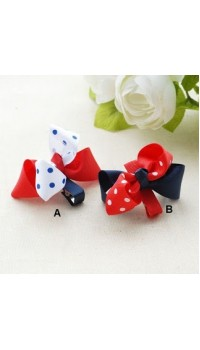 Clippies - Double Layered Ribbon Clips - Marilyn (1 pair)