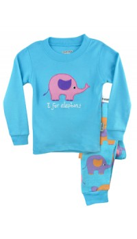 Holabebe Sleepware 2pc set - E for Elephant
