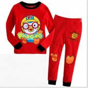 GAP Embroidery Sleepware 2pc set - Pororo (Red) (2Y, 4Y, 5Y, 6Y, 7Y)