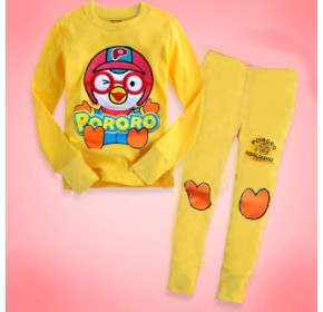 GAP Embroidery Sleepware 2pc set - Pororo (Yellow) (2Y, 5Y, 6Y, 7Y)