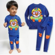 GAP Embroidery Sleepware 2pc set - Pororo (Blue) (4Y, 5Y, 6Y, 7Y)