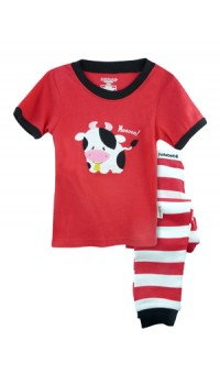 Holabebe Sleepware 2pc set - Moo Moo Cow (2Y, 3Y, 4Y, 5Y, 6Y, 7Y)