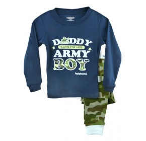 Holabebe Sleepware 2pc set - Daddy's Army Boy (6Y)