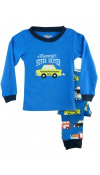 Holabebe Sleepware 2pc set - Mommy's Super Driver (2Y, 4Y, 5Y, 6Y, 7Y)