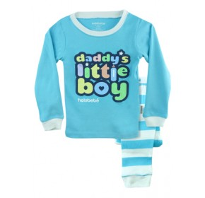 Holabebe Sleepware 2pc set - Daddy's Little Boy (3Y, 4Y, 5Y, 6Y, 7Y)