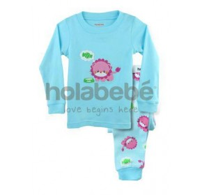 Holabebe Sleepware 2pc set - Candy Lion (3Y, 4Y, 5Y, 6Y)