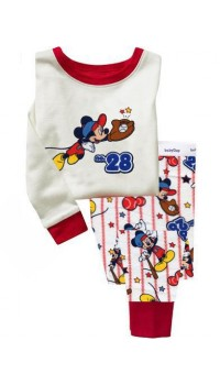 GAP Sleepware 2pc set - Mickey at Baseball - Embroidery (2Y, 3Y, 4Y, 5Y)