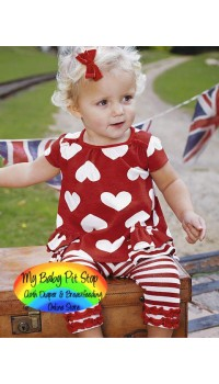 Summer Girls Love Dress - Top and Legging (2Y)