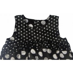 Mothercare Black Polka Dot Bubble dress (18M, 4Y)