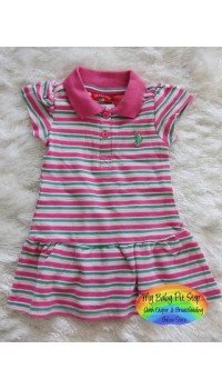 U.S Polo Assn Dress - Pink (12M)