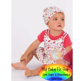 AMISSA Girl 3pc Dress set~Floral (2Y, 3Y)