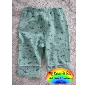 Korean A1Z9 Girlz Lite Green Knee Lgt. Legging (3Y, 4Y, 5Y, 6Y, 8Y)