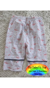 Korean A1Z9 Girlz Lite WhiteKnee Lgt. Legging (2Y, 4Y, 5Y, 6Y, 7Y)