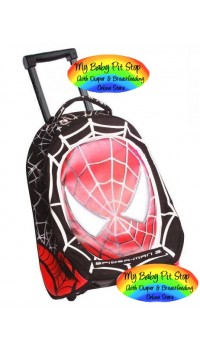 MARVEL - Spiderman Sparkling Rolling School Bag (100% authentic) FREE SHIPPING