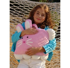Doomagic Cozy Companion Carry Along with Pillow (Cloe the Bunny)