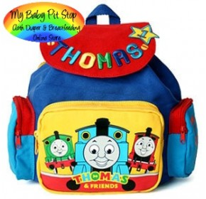 Thomas Canvas Backpack - Embroidery