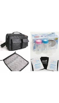 ** Clearance* The Moms Precious Cooler Kit Convertible Sling Bag - Clearance 25% OFF