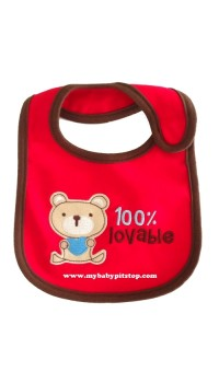 Carter's Water Proof Bib - 100% Lovable