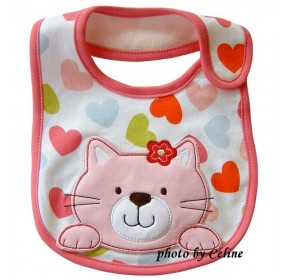 Carter's Water Proof Bib - Kitty Cat