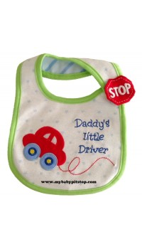 Carter's Water Proof Bib - Daddy's Lil Driver