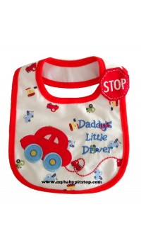 Carter's Water Proof Bib - Daddy's Little Driver