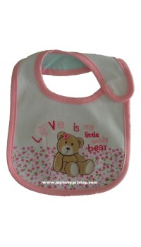 Carter's Water Proof Bib - My Little Teddy Bear