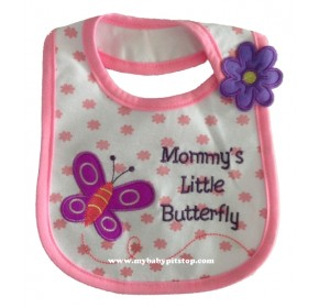 Carter's Water Proof Bib - Mommy's Little Butterfly