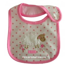 Carter's Water Proof Bib - Sheep with Love