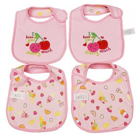 Carter's Water Proof Bib - I Love you Cherry Much