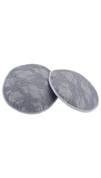 Autumnz- Washable Breastpads (Glorious Graphite) - 6 pcs