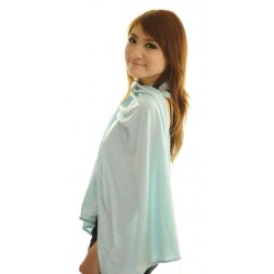 Autumnz Nursing Poncho -Blooming Blue