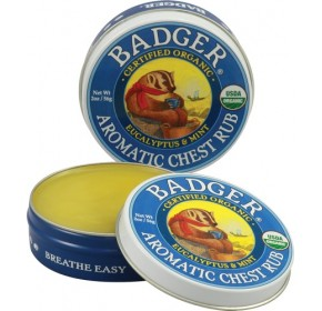 Badger Winter Wonder Balm Aromatic Chest Rub (USDA Certified Organic!)