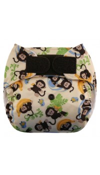 Blueberry One Size Deluxe - Monkey