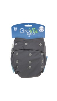 GroVia Shell - Cloud (Cover only - Snaps and H&L)