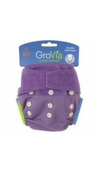GroVia Shell - Blackberry (Cover only - Snaps and H&L)