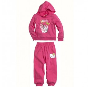 Hello Kitty Long Sleeve with Hood - Surfing (PINK) (4Y)