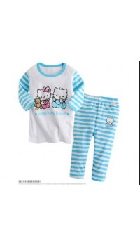 Sleepware - Boys 2pc set - Hello Kitty (4Y, 5Y, 6Y)