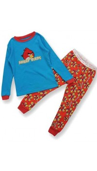 GAP Embroidery Sleepware Boys 2pc set - Angry Bird (18M, 3Y, 5Y, 6Y)