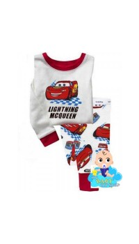 GAP Sleepware Boys 2pc set - Lightning Mcqueen on Track  (2Y, 4Y,  5Y)