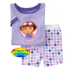 GAP Sleepware 2pc Set - Dora Shorts (4Y, 7Y)