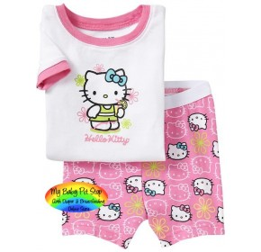GAP Sleepware 2pc Set - Hello Kitty Shorts (3Y, 5Y, 6Y)