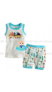 GW Sleepware 2pc set - Born To Surf (7Y)