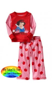 GAP Sleepware 2pc set - Snowwhite (Red) (18M)