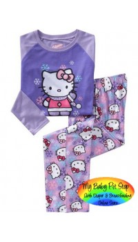 GAP Sleepware 2pc set - Hello Kitty Purple (18M )