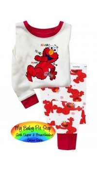 GAP Sleepware 2pc set - ELMO Laughing (5Y)
