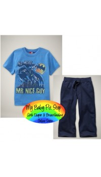 GAP Sleepware Boys 2pc set - No More Mr Nice Guy (18M)