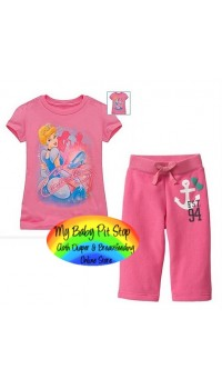 GAP Sleepware 2pc Set - Cinderella (2Y)