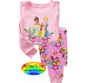 GAP Sleepware 2pc set - 3 Princess (5Y)